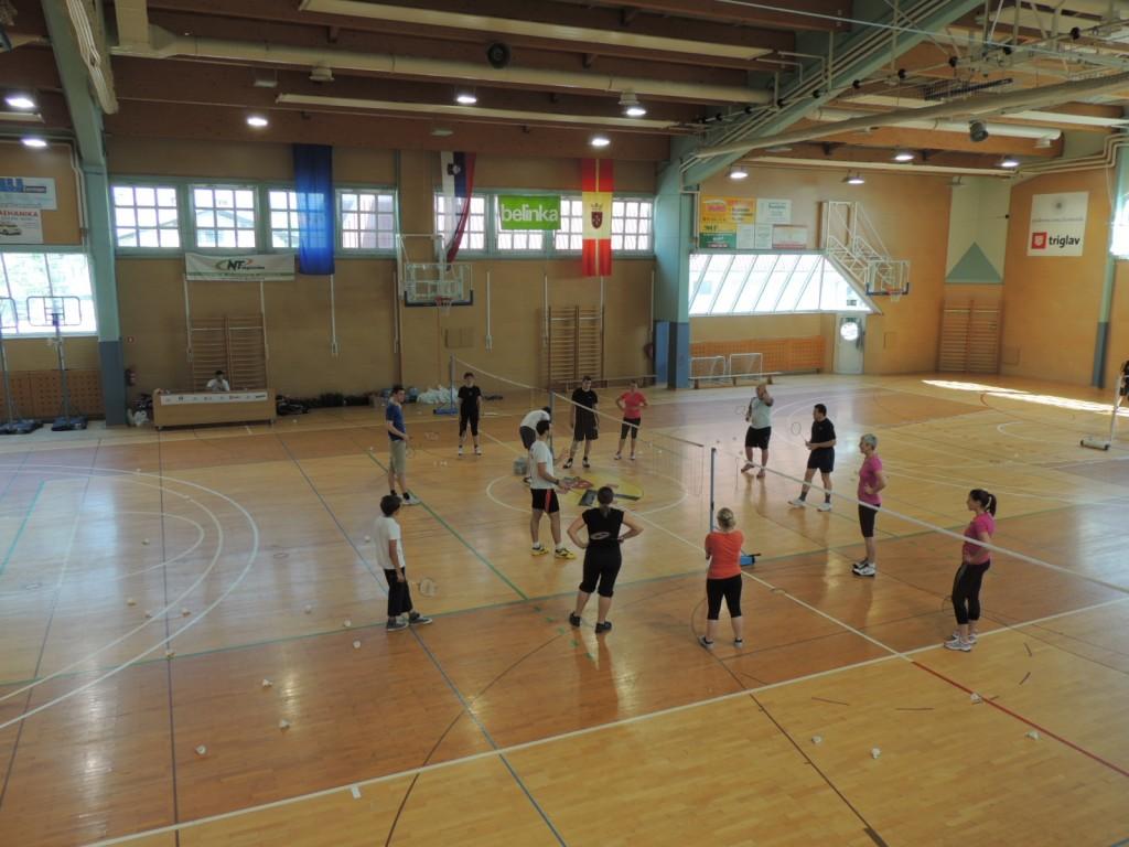 Tečaj badmintona 010
